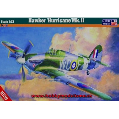 HAWKER HURRICANE MK.IIc ESCALA 1/72 MISTER CRAFT 042080 D-208