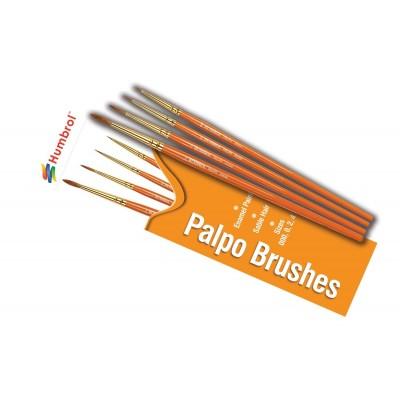 SET PINCELES PALPO (000, 0, 2, 4) - Humbrol AG4250