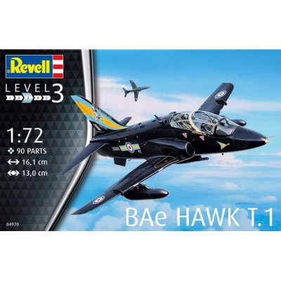 BAE HAWK T.1 ESCALA 1/72 - REVELL 04970