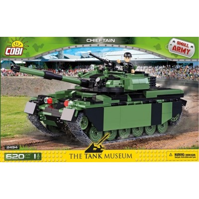 CARRO DE COMBATE CHIEFTAIN - COBI 2494