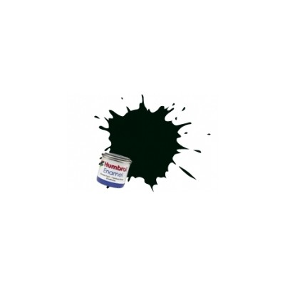 PINTURA ESMALTE VERDE NEGRO MATE (14 ml)