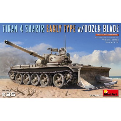 CARRO DE COMBATE TIRAN 4 SHARIR (Early) & Pala empujadora -1/35- MiniArt 37044