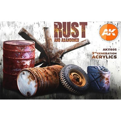 RUST (6 botes) - AK Interactive AK11605