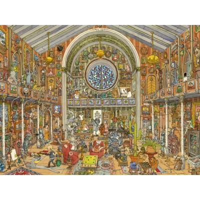 PUZZLE 1500 pzas CURIOSITY CABINET, ADOLFSSON - Heye 29794