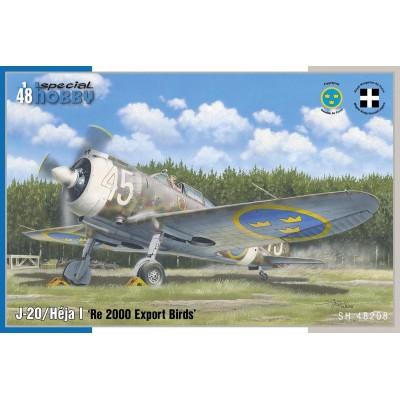 REGGIA Re.2000 HEJA I / J-20 (Export) -1/48- Special Hobby SH48208