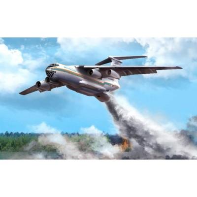 ILYUSHIN IL-76 TD EMERCOM -1/144- Zvezda 7029
