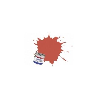 PINTURA ESMALTE MARRON ROJIZO MATE (14 ml) - Humbrol 100 / AA1105