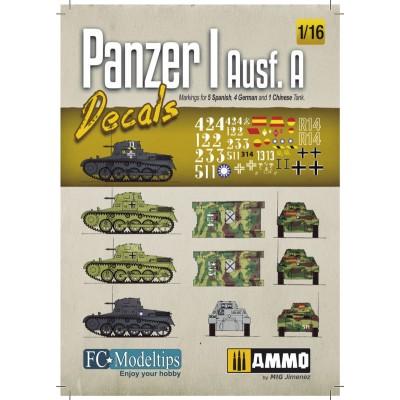 CALCAS PANZER I Ausf. A -1/16- FC Modeltips 16202
