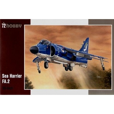 "BAe SEA HARRIER FA.2 ""Hi-tech"" -1/72- Special Hobby SH72154"