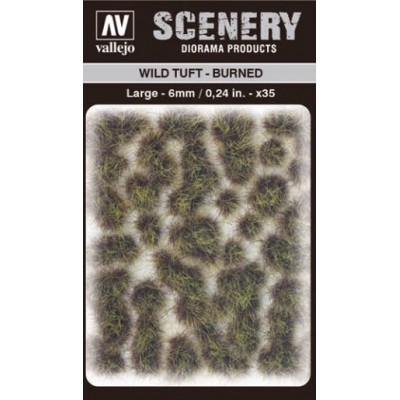 WILD TURF - BURNED (L: 6 mm x 35 unidades) - Acrylicos Vallejo SC414