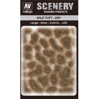 WILD TURF - DRY (L: 6 mm x 35 unidades) - Acrylicos Vallejo SC419