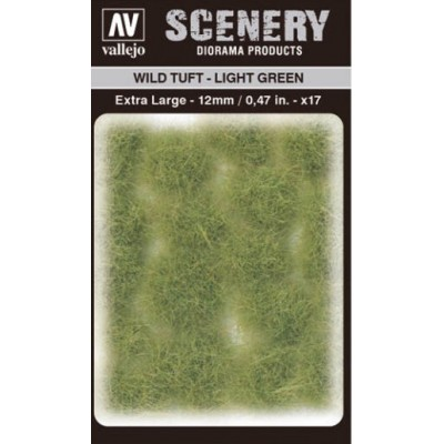 WILD TURF - LIGHT GREEN (L: 12 mm x 35 unidades) - Acrylicos Vallejo SC426