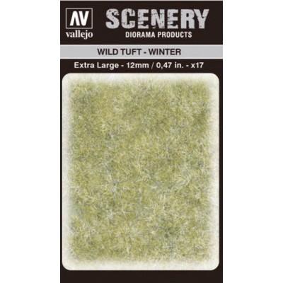 WILD TURF - WINTER (L: 12 mm x 35 unidades) - Acrylicos Vallejo SC421