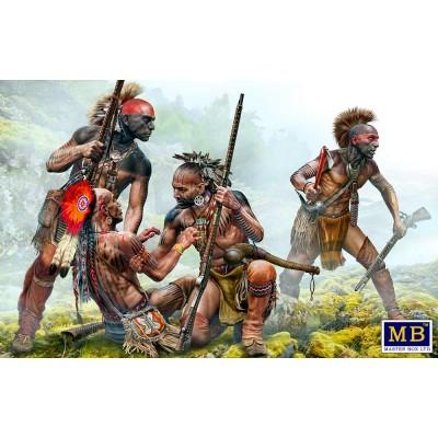 Indian Wars series: PROTECTIVE CIRCLE -1/35- Master Box 35209