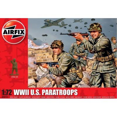 PARACAIDISTAS U.S. (48 piezas) -1/72- Airfix A00751