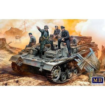 "TRIPULACION STUG III -Their position is behind that forest!"" -1/35- Master Box 35208"