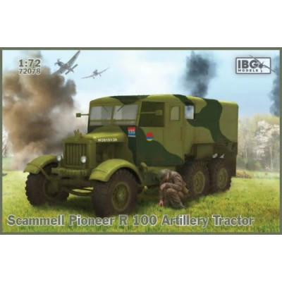 CAMION SCAMMELL PIONEER R100 (Tractor) -Escala 1/72- IBG 72078