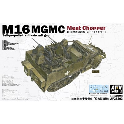 SEMIORUGA M-16 MGMC -Escala 1/35- AFV Club AF35203
