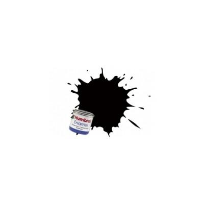 PINTURA ESMALTE NEGRO METALIZADO BRILLANTE (14 ml)