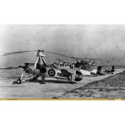 AUTOGIRO AVRO - CIERVA C-30A ARMADA ESPAÑOLA 1/35