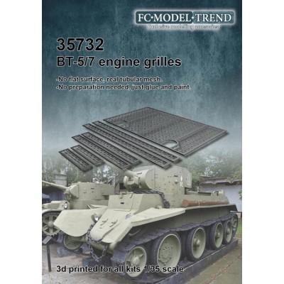 SET REJILLAS BT-5 -Escala 1/35- FC Modeltips 35732
