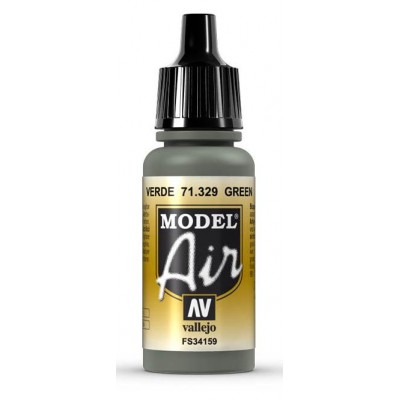 PINTURA ACRILICA VERDE (17 ml) FS34159 - Model Air 71329