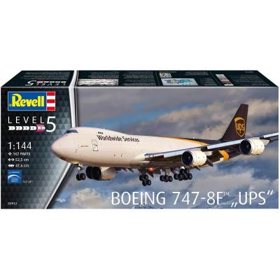 BOEING 747-8F UPS ESCALA 1/144 - REVELL 03912