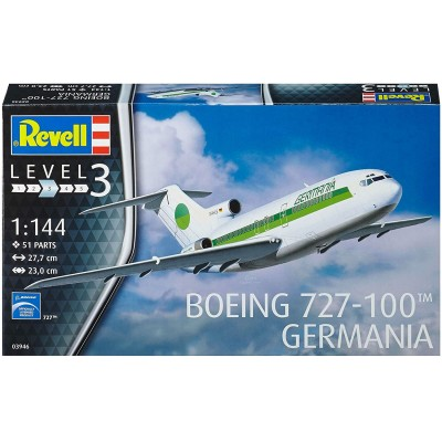 BOEING 727-100 GERMANIA - ESCALA 1/144 - REVELL 03946