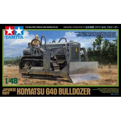 BULLDOZER KOMATSU G-40 -Escala 1/48- Tamiya 32565