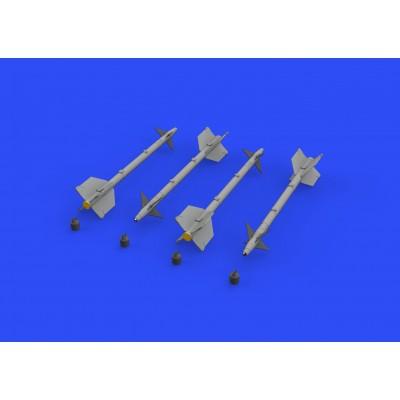 SET MISILES AIM-9 M/L SIDEWINDER -Escala 1/32- Eduard 632141