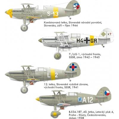 AVIA B.534 Serie IV -Escala 1/144- Eduard 4453