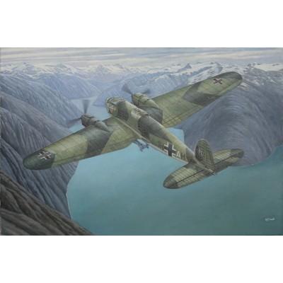 HEINKEL He-111 H-6 -Escala 1/144- Roden 341
