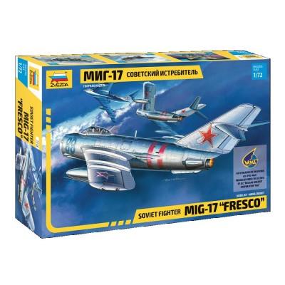 MIG-17 FRESCO escala 1/72 ZVEZDA 7318