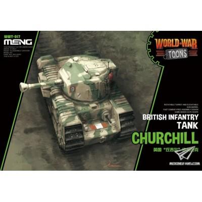 CARRO DE COMBATE CHURCHILL -TOONS- Meng Model WWT-017