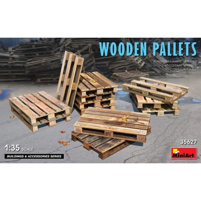 PALLETS DE MADERA -Escala 1/35- MiniArt 35267