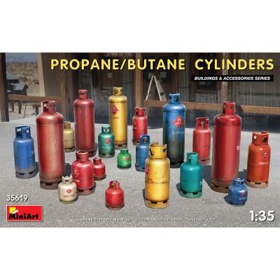 BOMBONAS DE PROPANO / BUTANO -Escala 1/35- MiniArt 35619