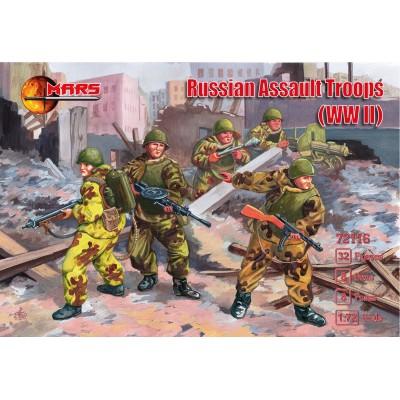 TROPAS DE ASALTO SOVIETICAS -Escala 1/72- Mars 72116