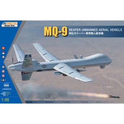 GENERAL ATOMICS MQ-9 REAPER & Bomba GBU-12 -Escala 1/48- Kinetic K48067