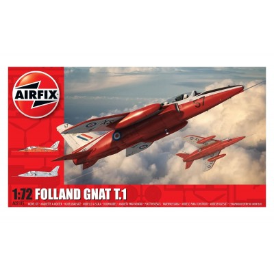 FOLLAND GNAT T.1 -Escala 1/72- Airfix A02105