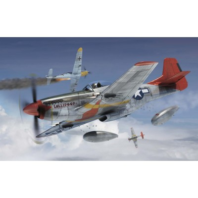 NORTH AMERICAN P-51 D MUSTANG -Escala 1/72- Airfix A01004