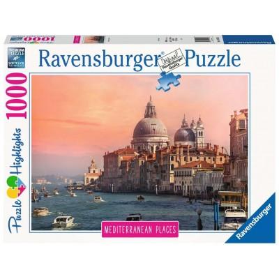 PUZZLE 1000 PZAS MEDITERRANEAN ITALY VENECIA - RAVENSBURGER 14976