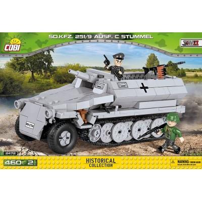 TRANSPORTE DE TROPAS Sd.Kfz. 251/9 Ausf. C - COBI 2472