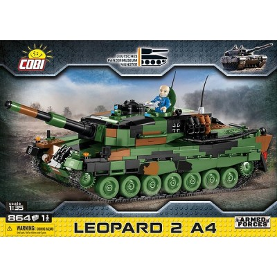 CARRO DE COMBATE LEOPARD 2 A4- COBI 2618
