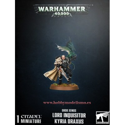 LORD INQUISITOR KYRIA DRAXUS - GAMES WORKSHOP 52-42