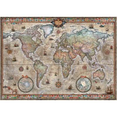 PUZZLE 1000 PZS MAP ART MAPAMUNDI - HEYE 29871