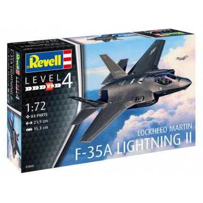 LOCKHEED MARTIN F-35A LIGHTNING II - ESCALA 1/72 - REVELL 03868