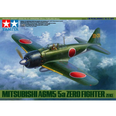 MITSUBISHI A6M5/5a ZERO ESCALA 1/48 - TAMIYA 61103