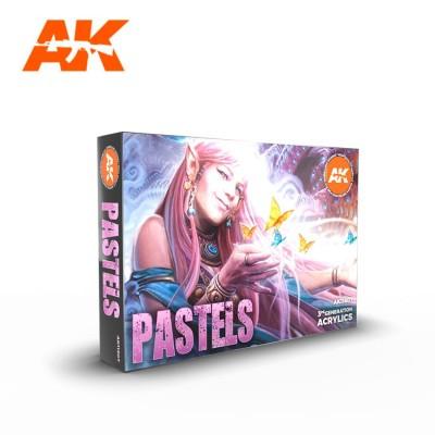 SET DE COLORES PASTEL - AK 11607