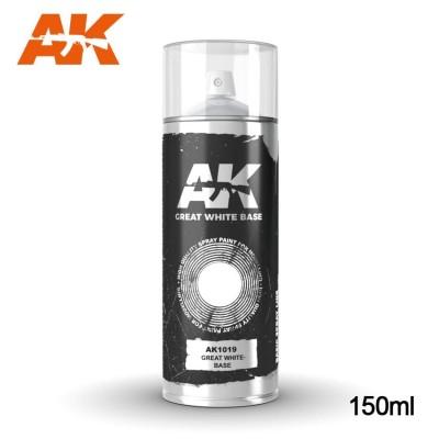 SPRAY COLOR BLANCO 150 ml - AK 1019