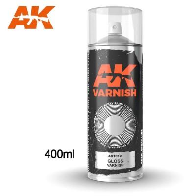 SPRAY BARNIZ BRILLANTE 400 ml - AK 1012